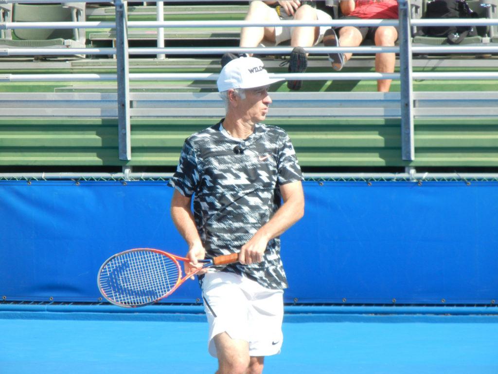 John McEnroe Tennis